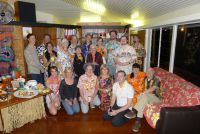 M.A.D. Hawaiian Christmas Party at Jacobi House