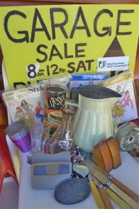 RETRO GARAGE SALE - SATURDAY 26 AUGUST 2017